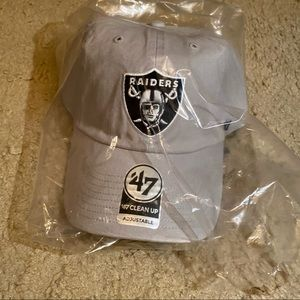 BNWT NFL Raiders Hat